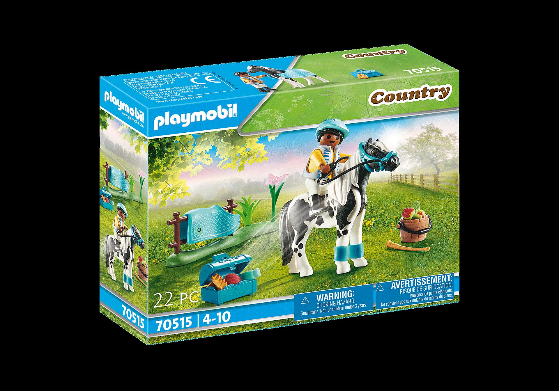 70515 Cavalier  et poney Lewitzer zoom image2