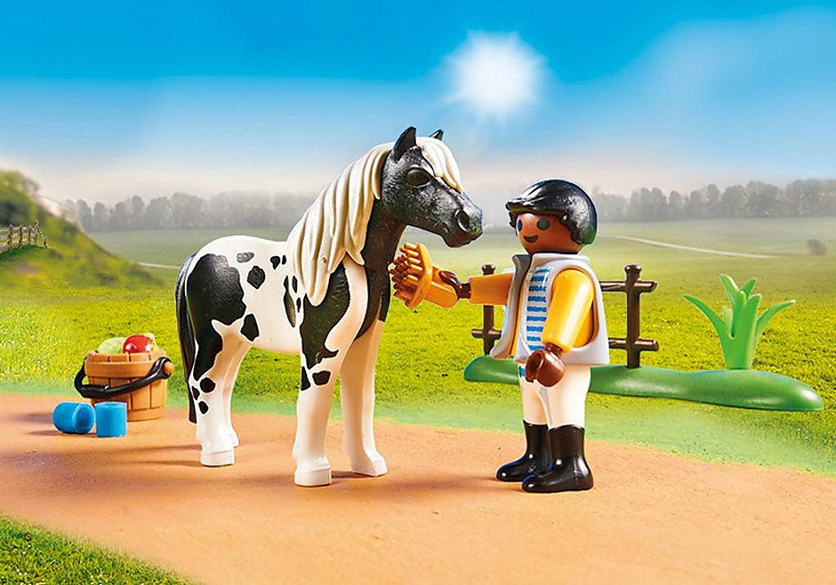 70515 Cavalier  et poney Lewitzer detail image 4