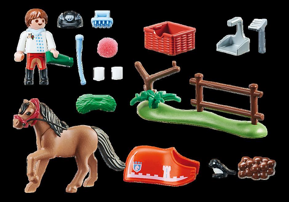 70516 Cavalier et poney Connemara detail image 3