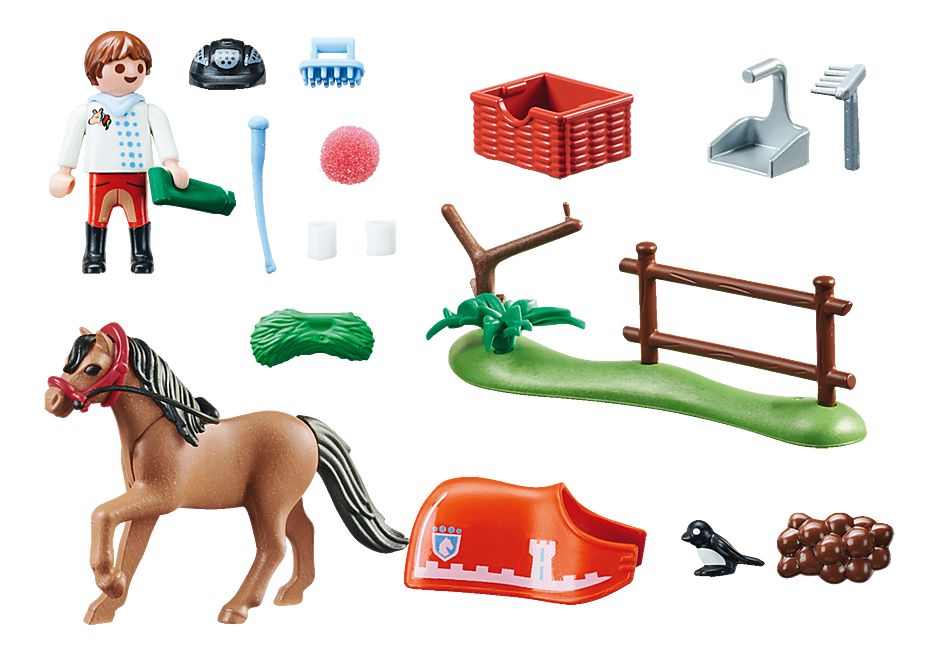 70516 Collectible Connemara Pony  detail image 3