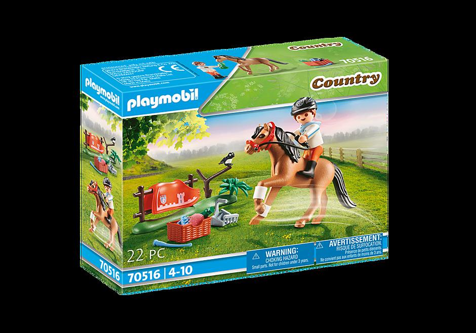 70516 Cavalier et poney Connemara detail image 2