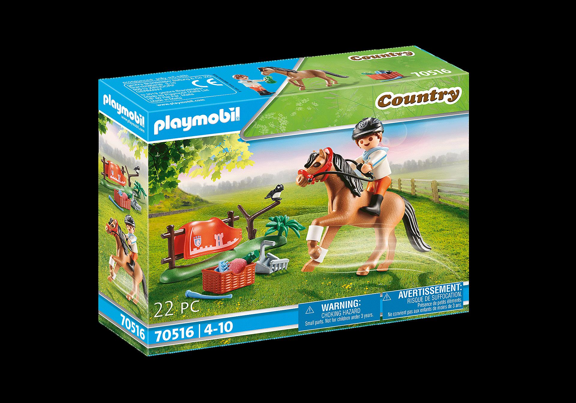 70516 Cavalier et poney Connemara zoom image2