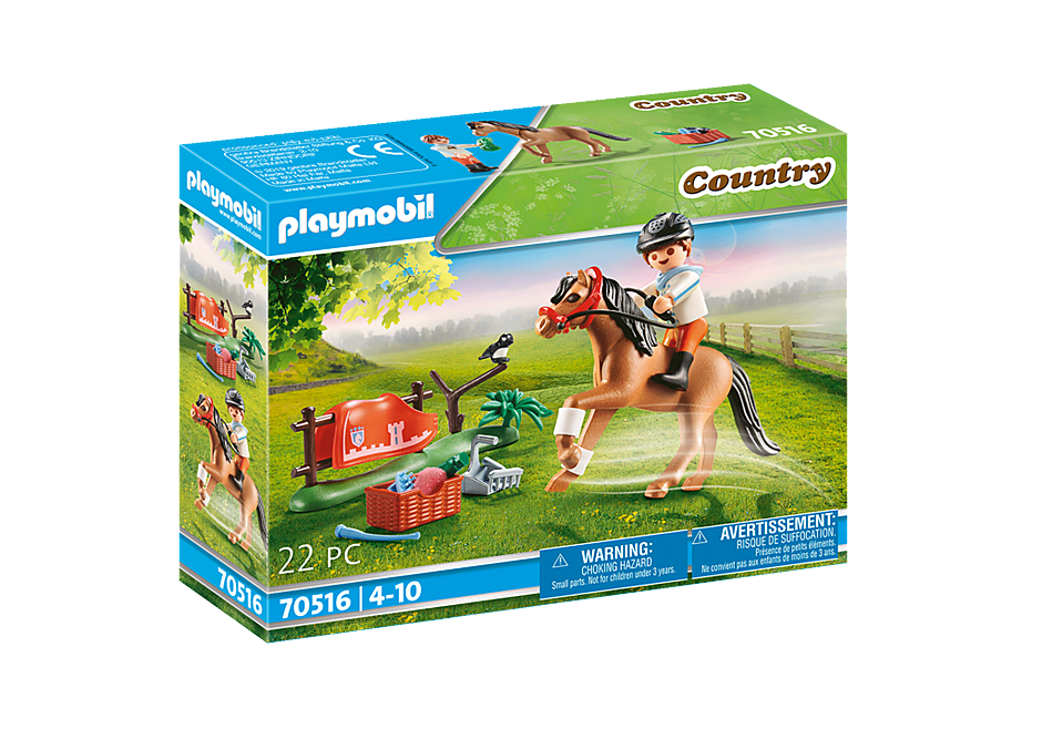 70516 Collectible Connemara Pony  detail image 2