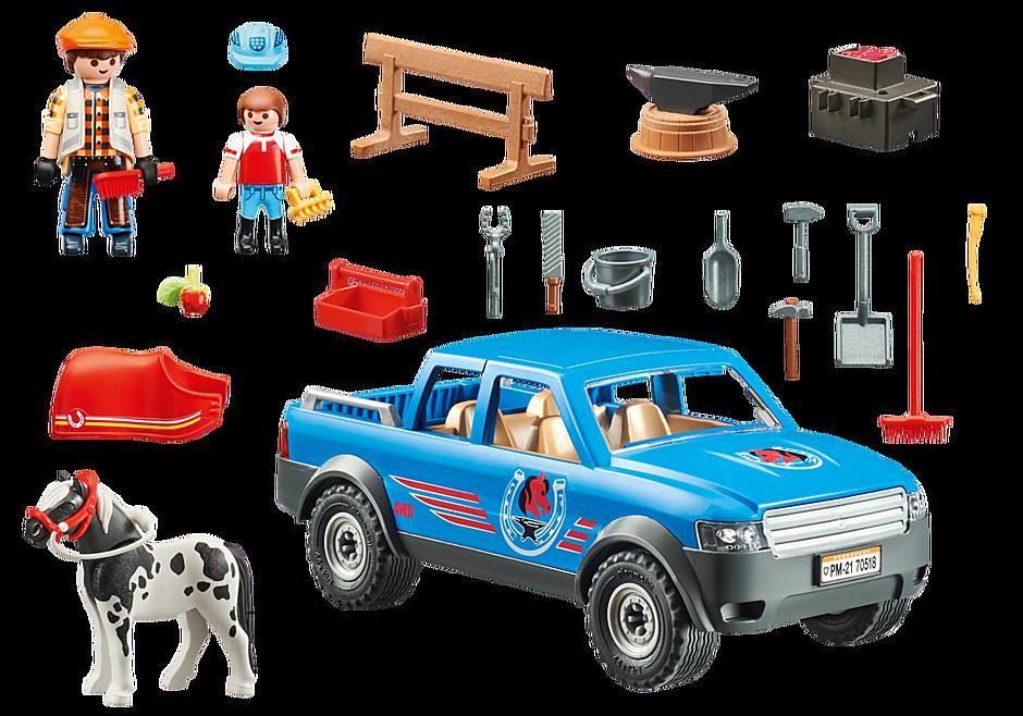 70518 Maréchal-ferrant et véhicule detail image 3