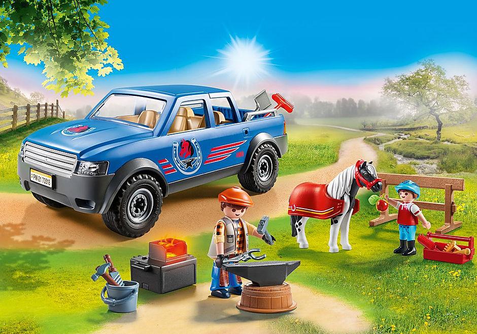 70518 Maréchal-ferrant et véhicule detail image 1
