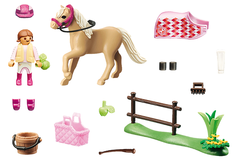 70521 Collectie pony 'Duitse rijpony' detail image 3