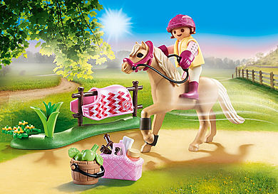 70521 Collectible German Riding Pony