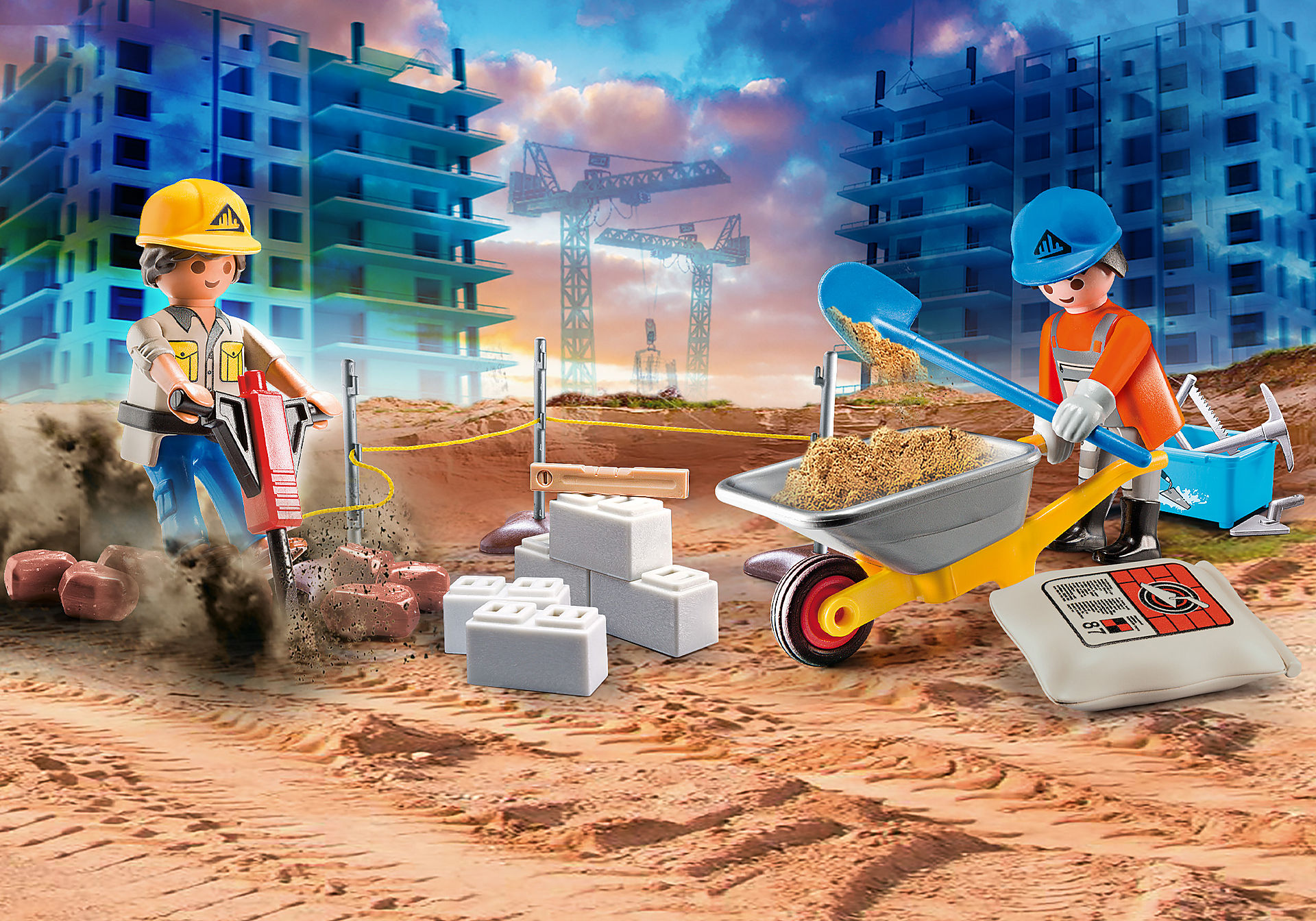 70528 Construction Site Carry Case zoom image1