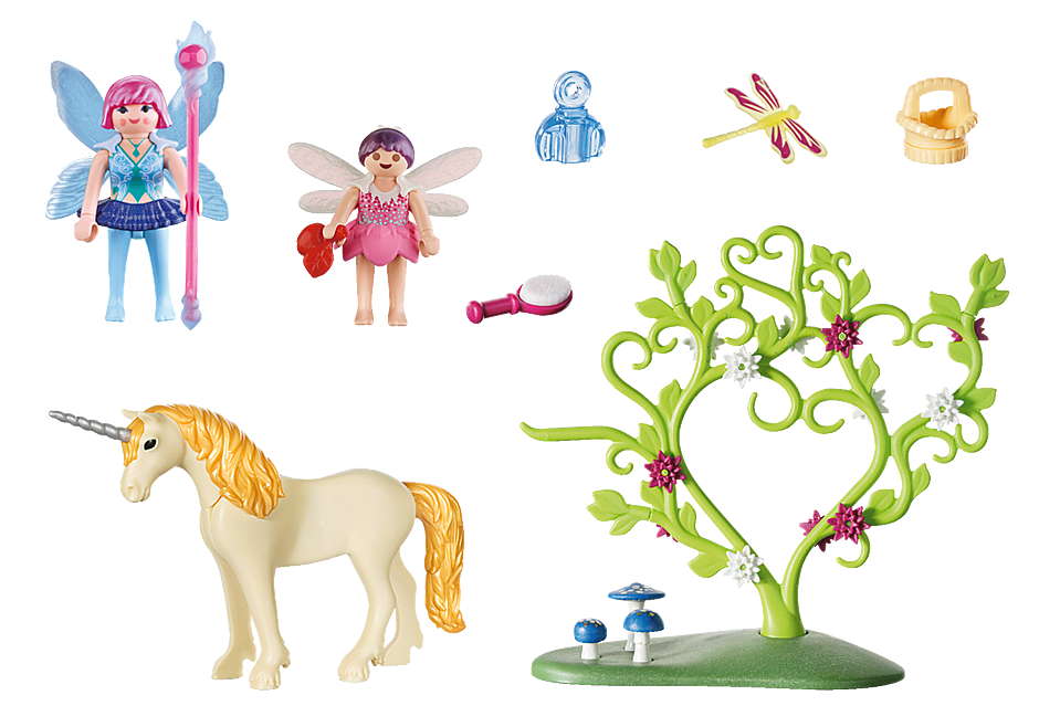 70529 Fairy Unicorn Carry Case detail image 3