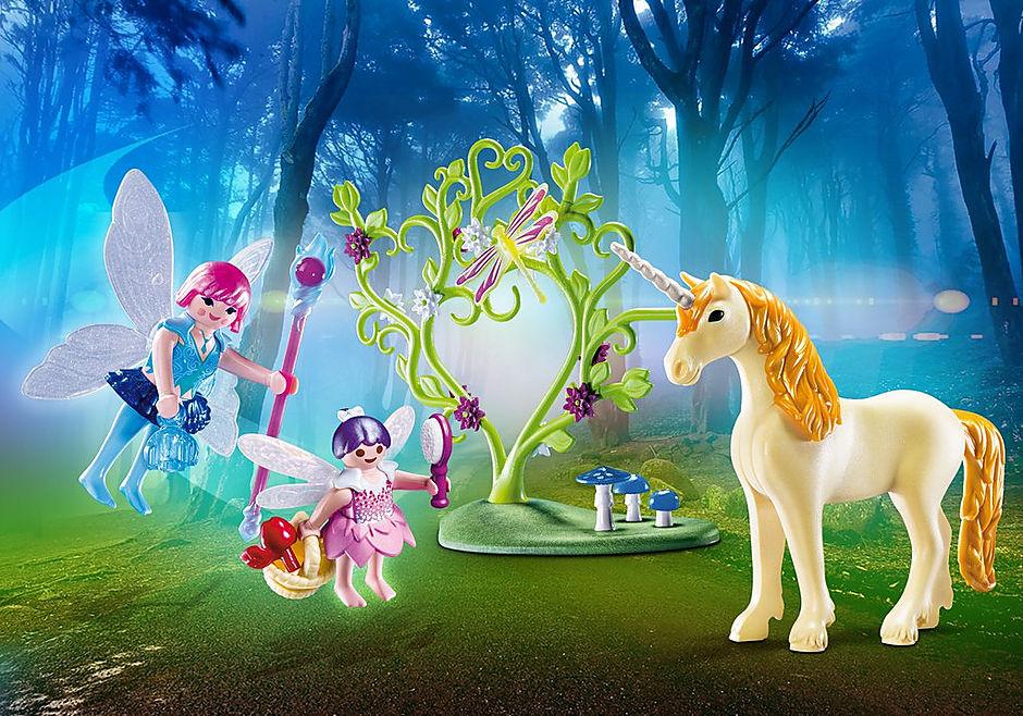 70529 Fairy Unicorn Carry Case detail image 1