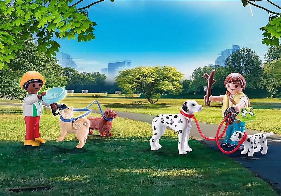 70530 Valisette Enfants et chiens detail image 1