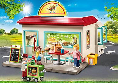 70540 Restaurant de hamburgers