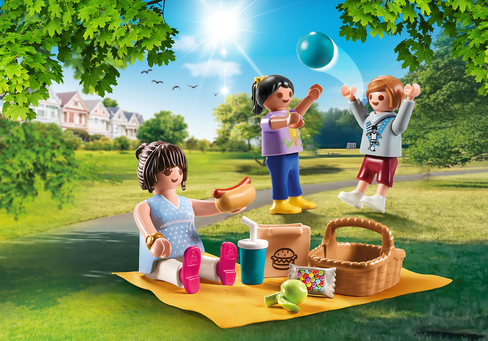 Inspired: International Picnic Day - Le Chateau blog
