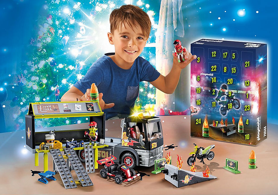 70544 Jumbo Advent Calendar - Stunt Show detail image 1