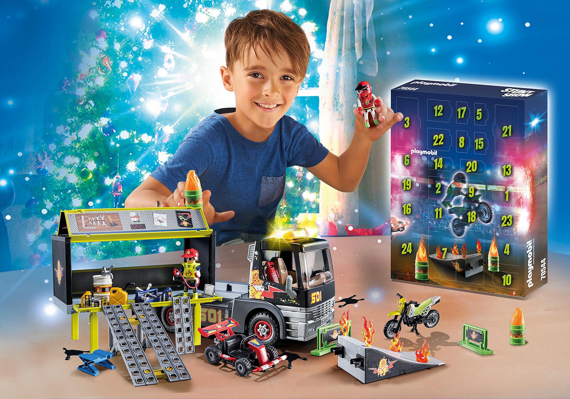70544 Maxi Calendario dell'Avvento 'Monster Truck Show' zoom image1