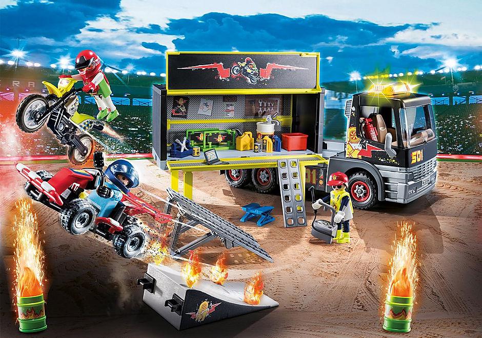 70544 PLAYMOBIL - XXL Adventskalender Stuntshow detail image 4