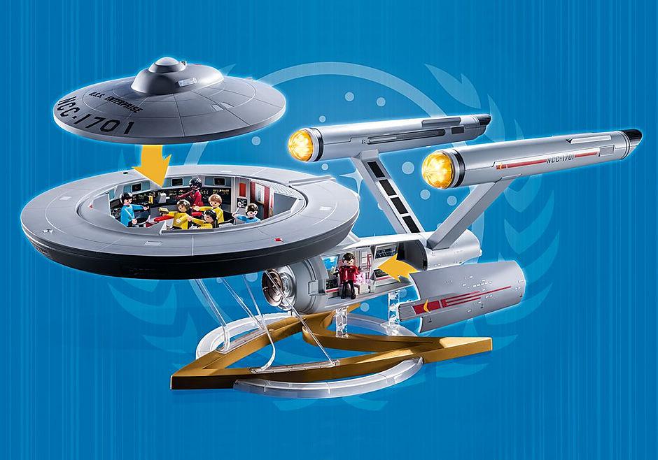 70548 Star Trek - U.S.S. Enterprise NCC-1701 detail image 8