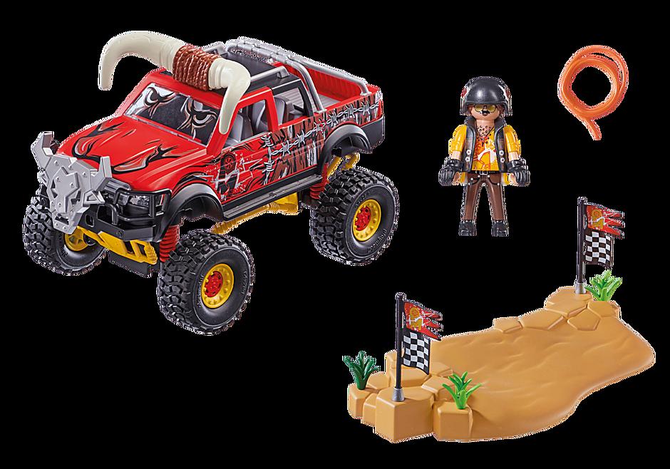 70549 Stuntshow Monster Truck met hoorns detail image 3