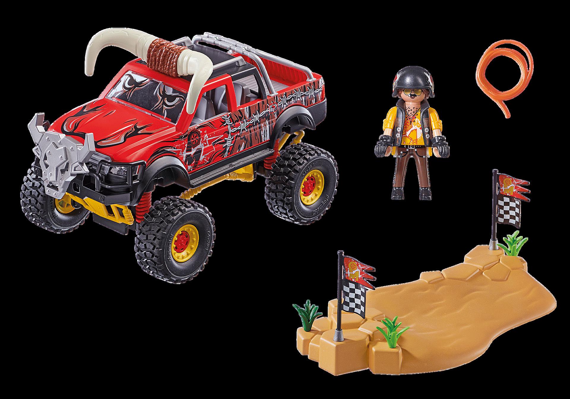 70549 Stuntshow Monster Truck met hoorns zoom image3