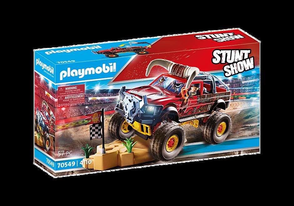 70549 Stuntshow Monster Truck met hoorns detail image 2