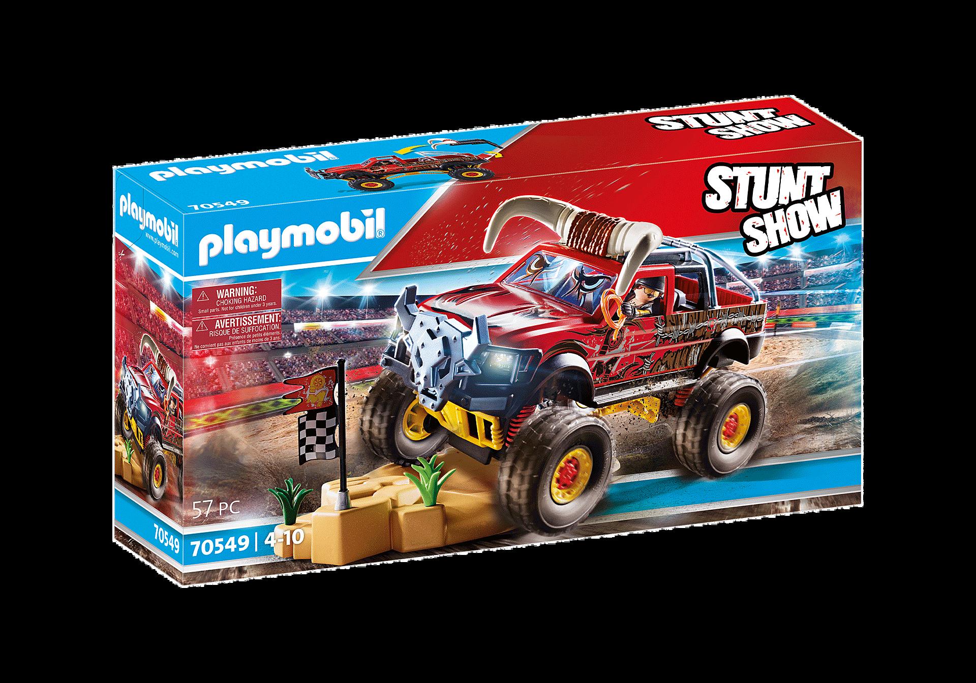 70549 Stuntshow Monster Truck met hoorns zoom image2
