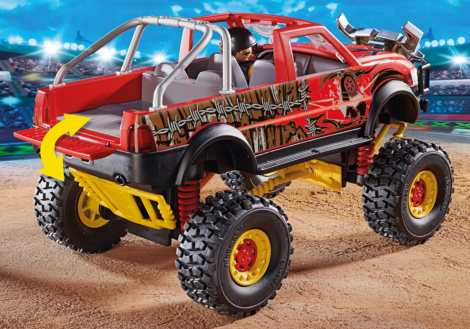 70549 Stuntshow Monster Truck met hoorns zoom image5