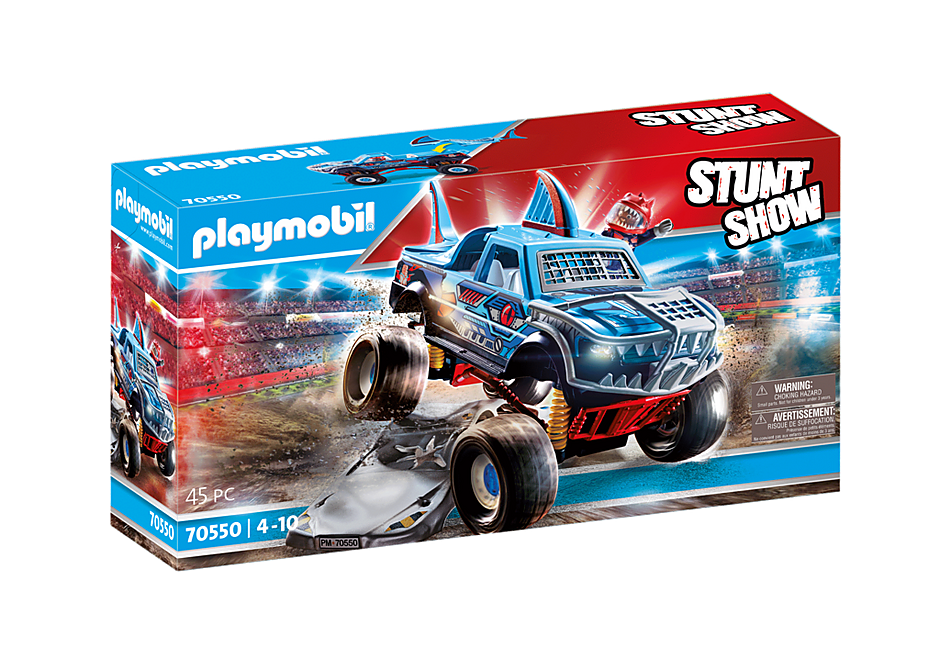 70550 Stuntshow Monster Truck Haai detail image 2