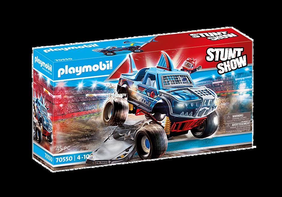 70550 Stuntshow Monster truck de cascade Requin  detail image 2