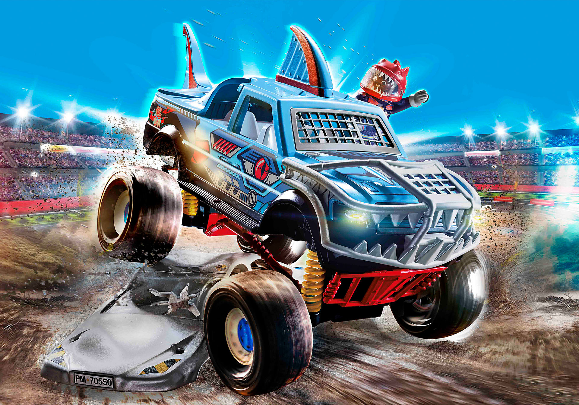 70550 Stunt Show Shark Monster Truck zoom image1
