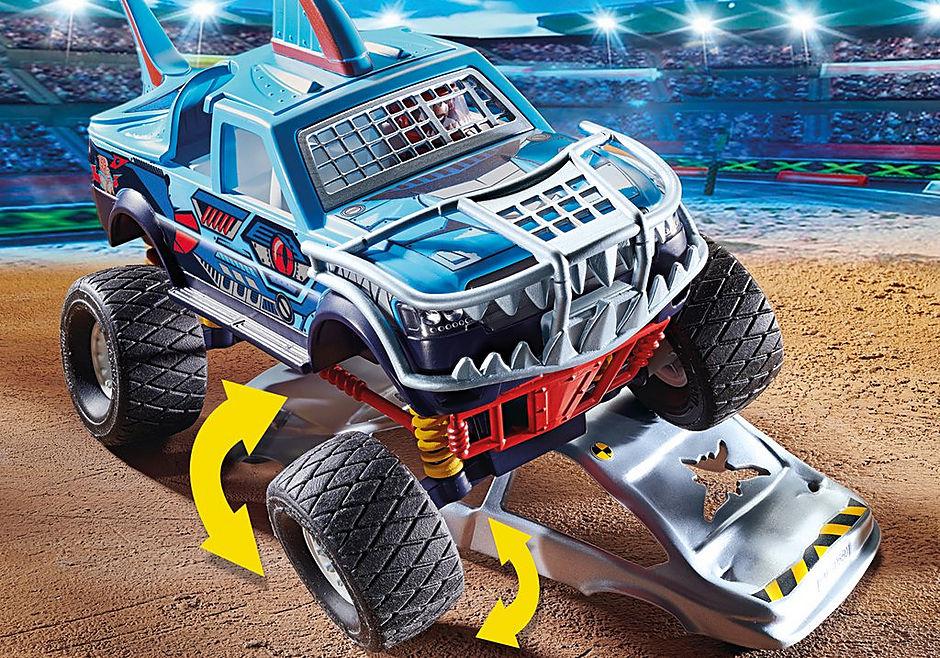 70550 Stuntshow Monster truck de cascade Requin  detail image 4