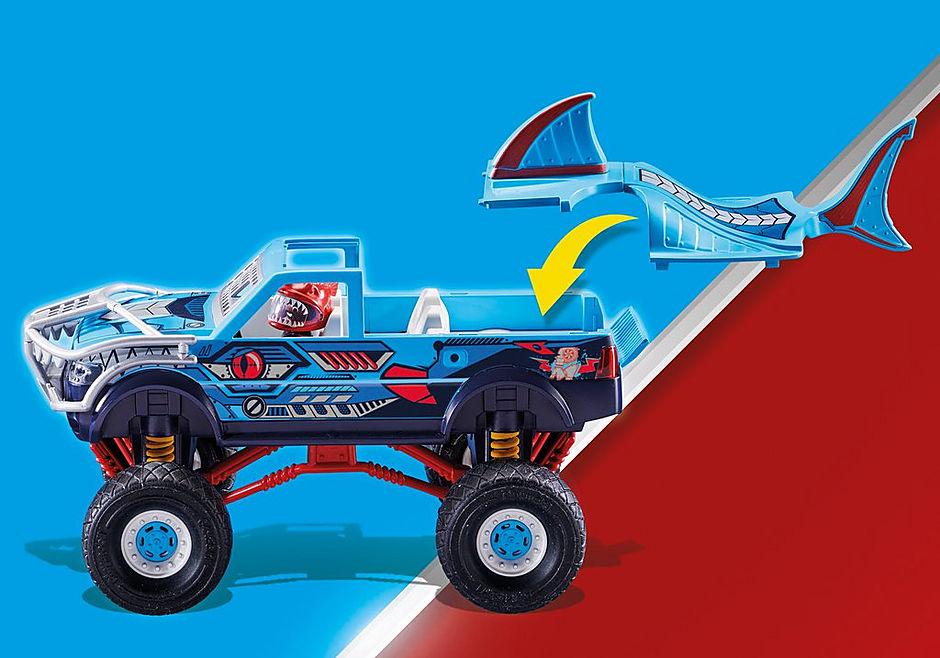 70550 Stuntshow Monster truck de cascade Requin  detail image 6