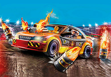 70551 Stuntshow – crashcar