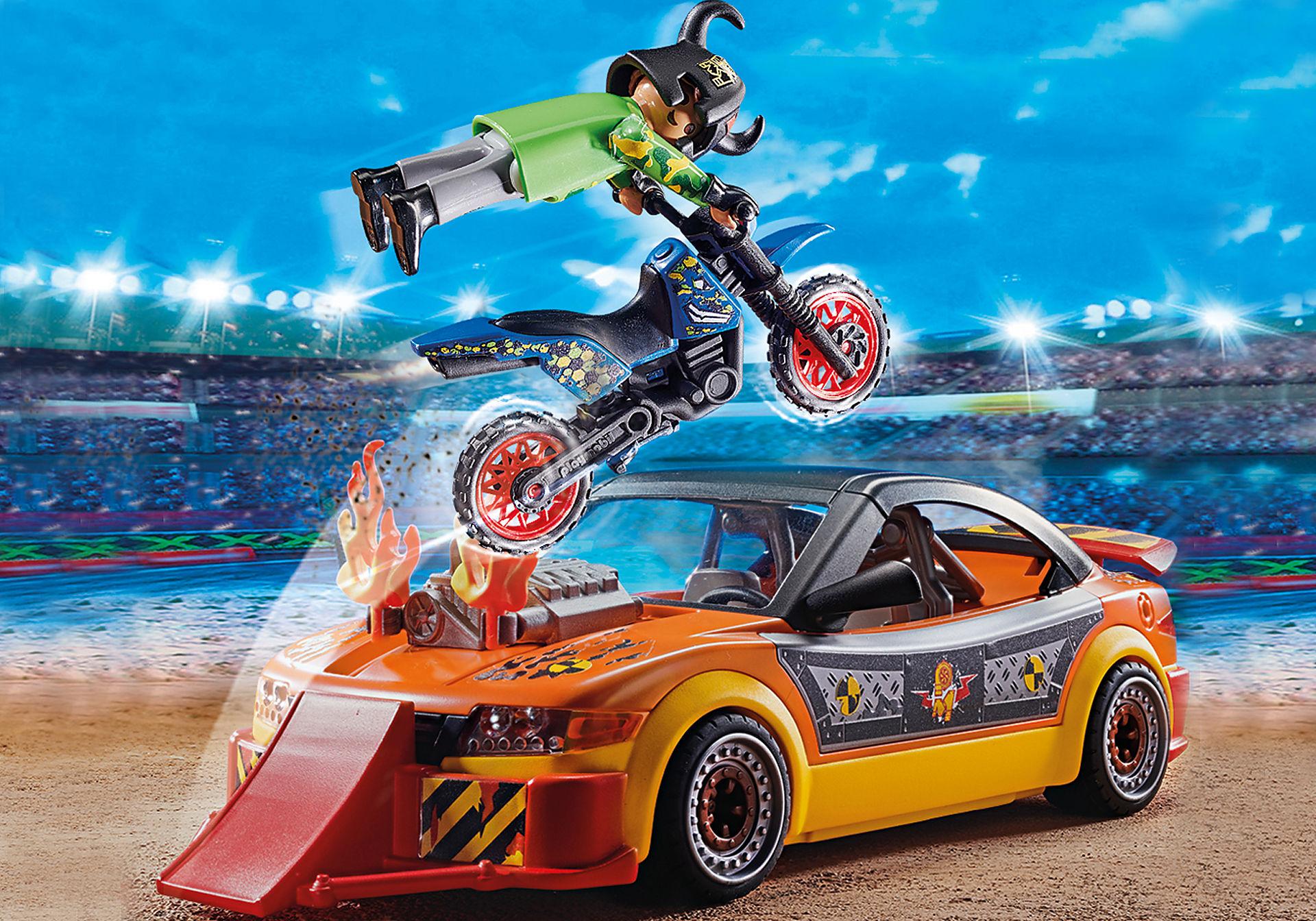 70551 Stuntshow Voiture crash test avec mannequin zoom image4