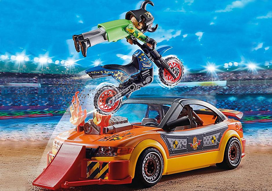 70551 Stuntshow Voiture crash test avec mannequin detail image 4
