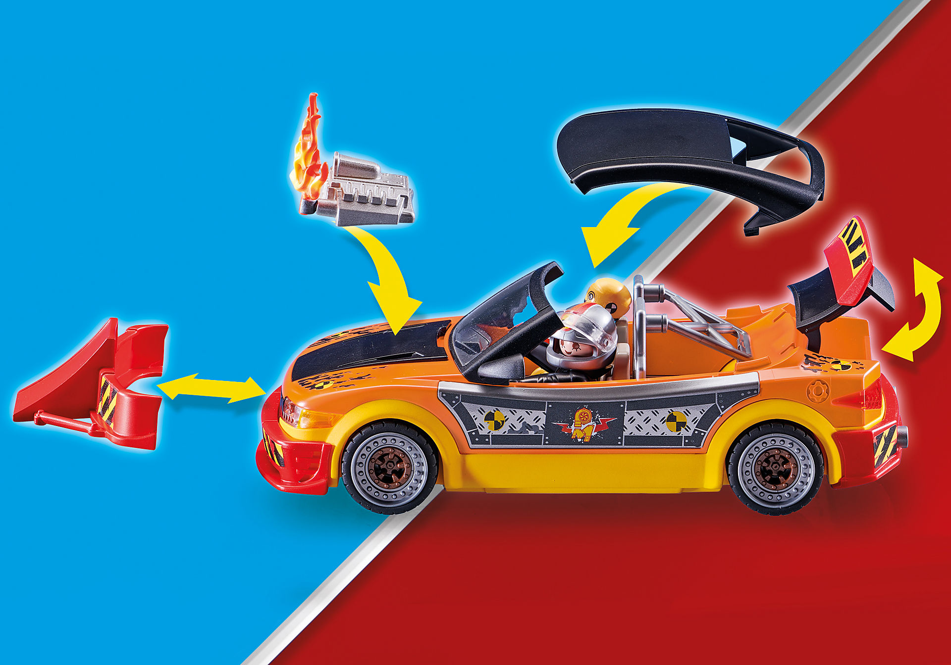 70551 Stuntshow crashcar zoom image6