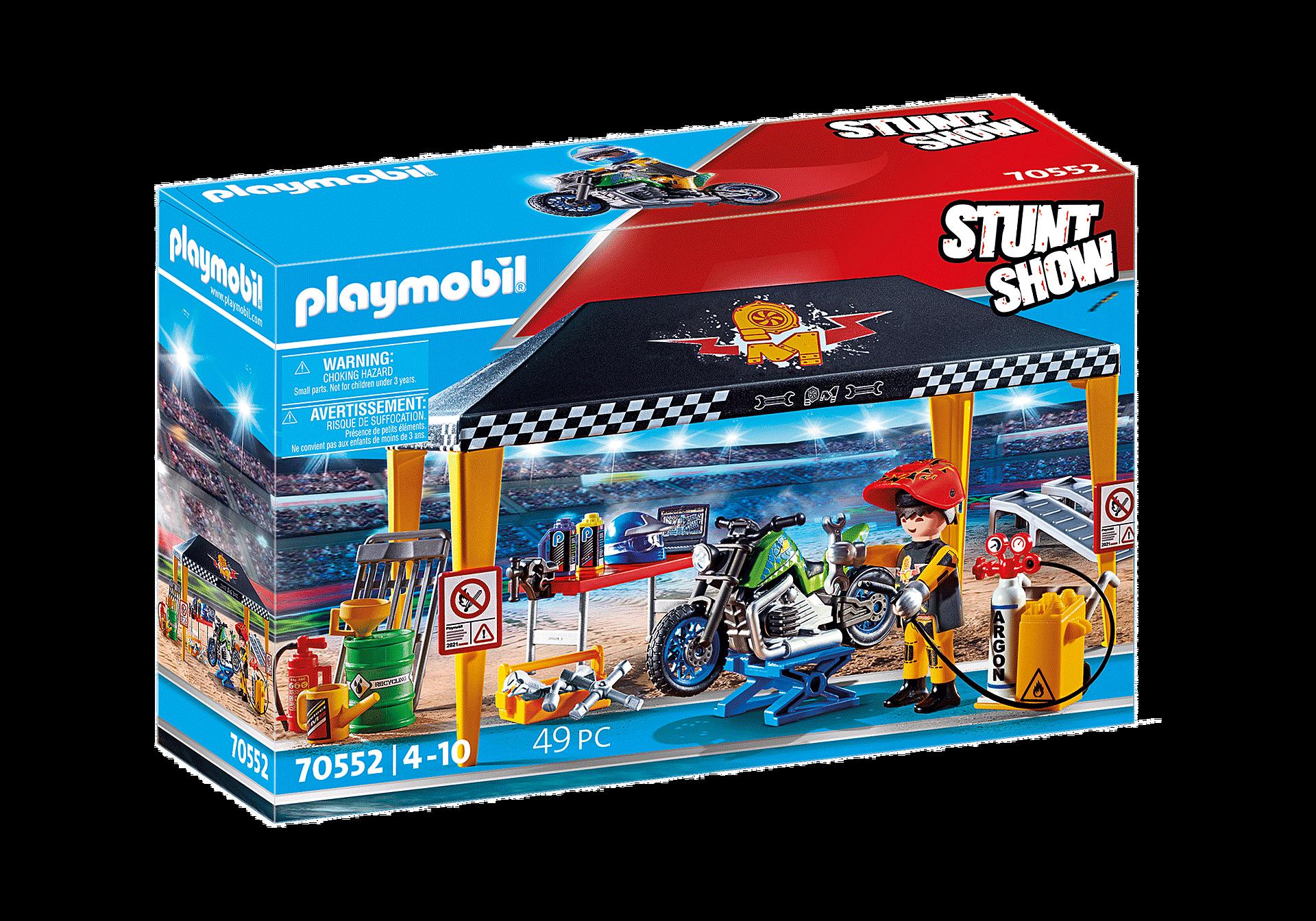 70552 Stuntshow Werkstattzelt zoom image3