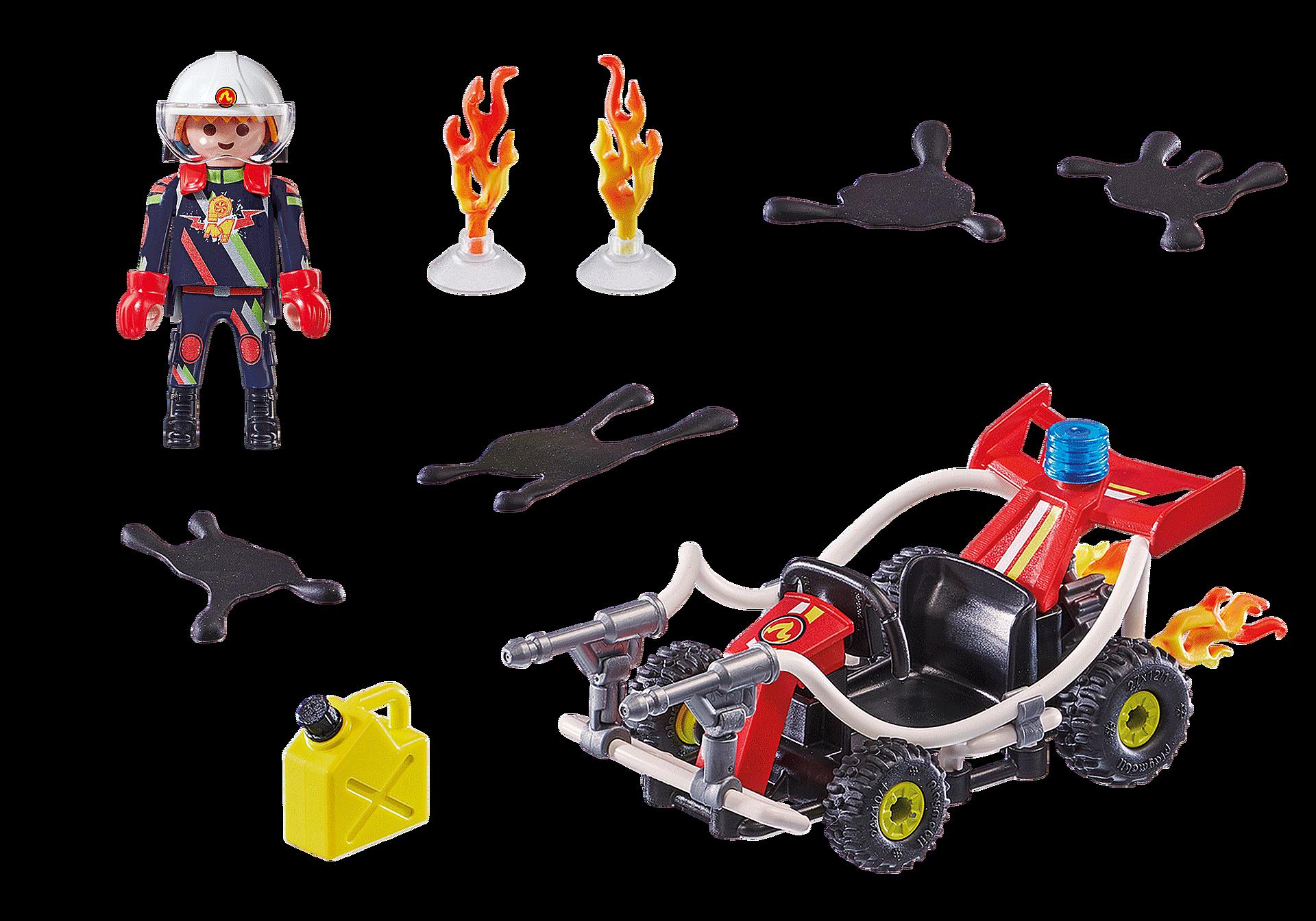 70554 Stunt Show Fire Quad zoom image3
