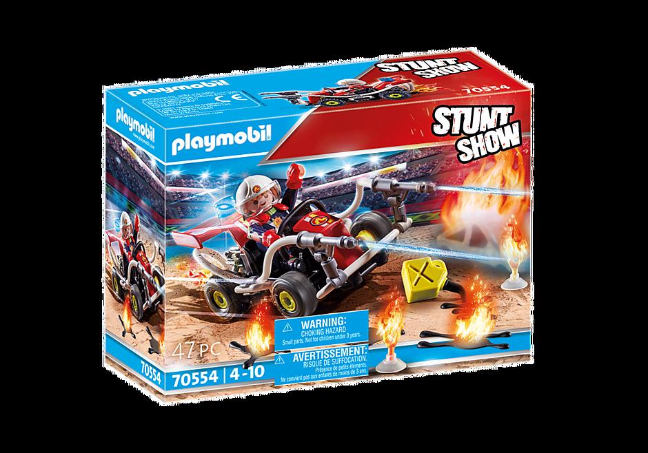 70554 Stuntshow Brandweerkart detail image 2