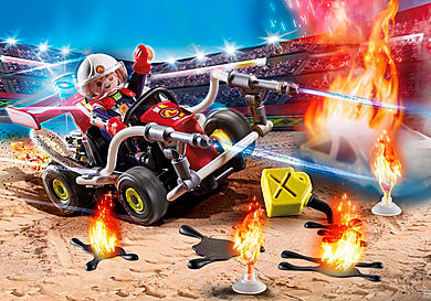 70554 Stunt Show Fire Quad