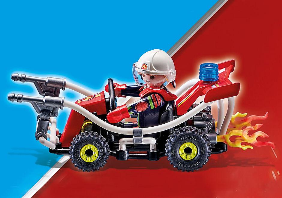 70554 Stuntshow Brandweerkart detail image 4
