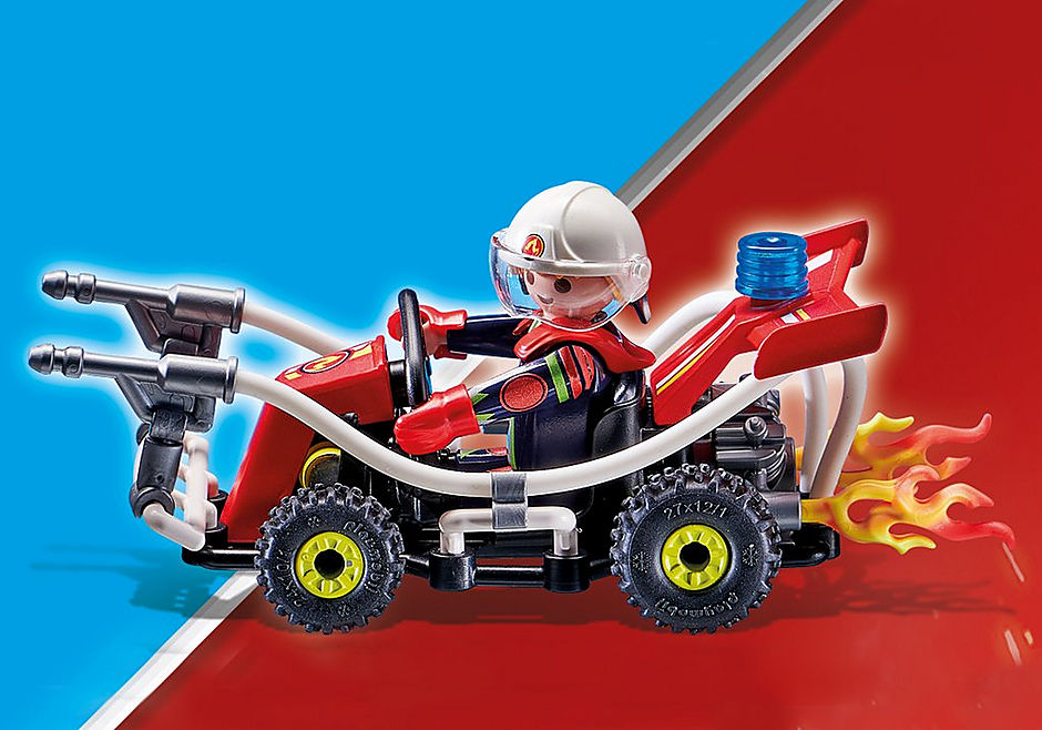 70554 Stuntshow Kart Bombeiro detail image 4