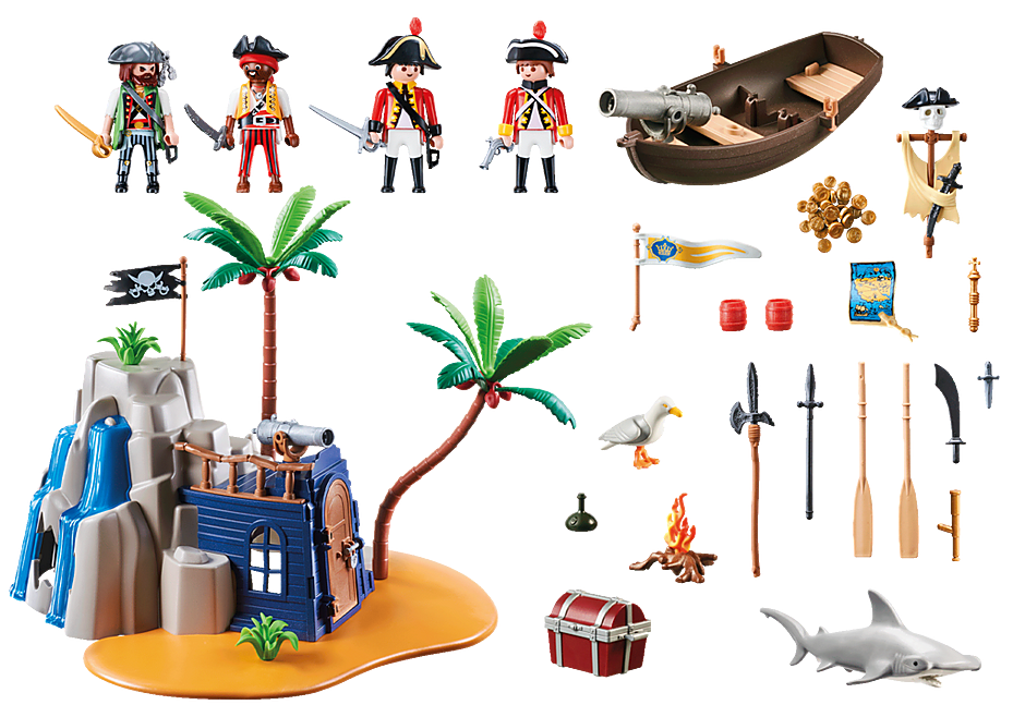 70556 Pirate Island Hideout detail image 3