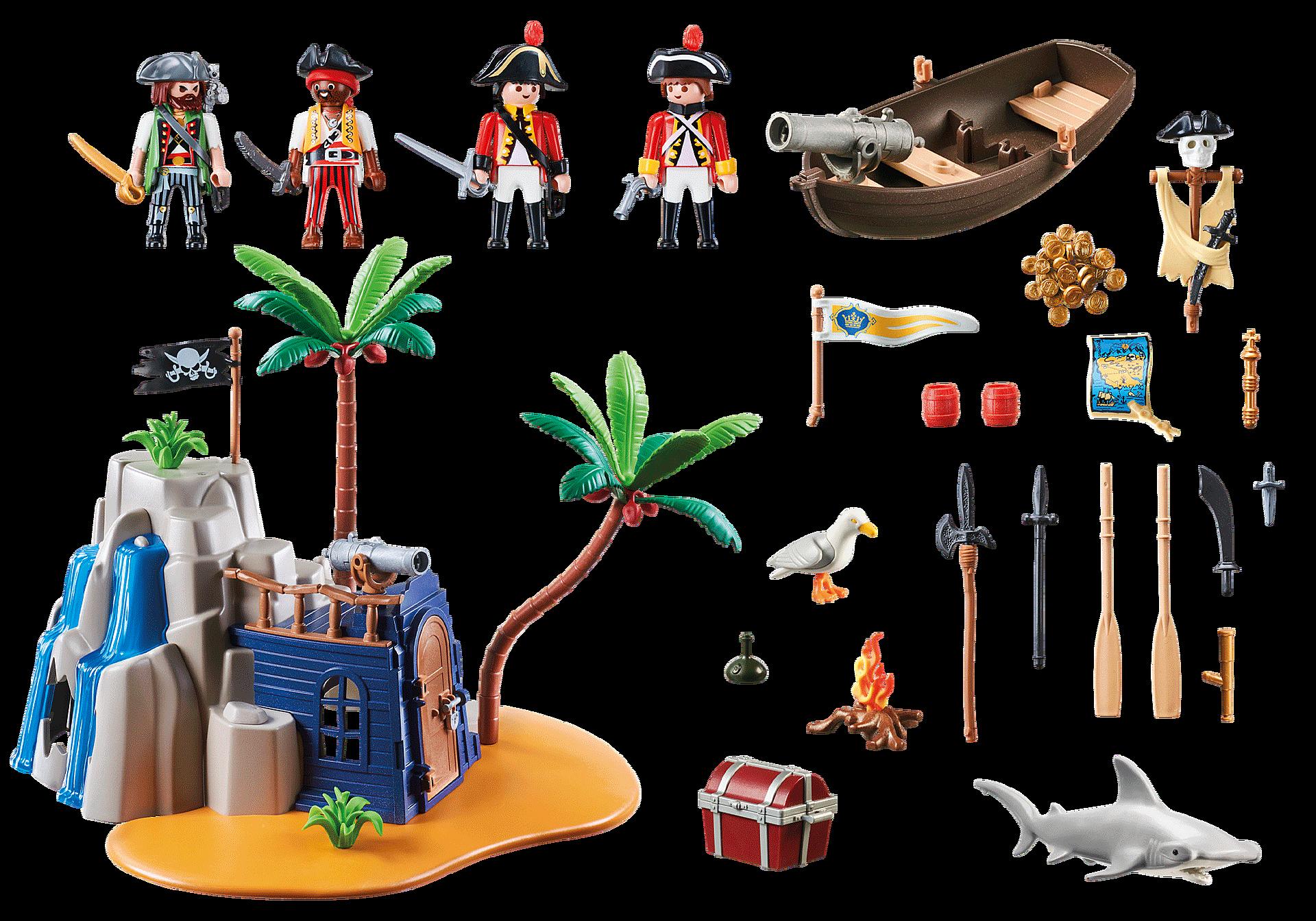 70556 Pirateneiland met schuilplaats voor schatten zoom image3