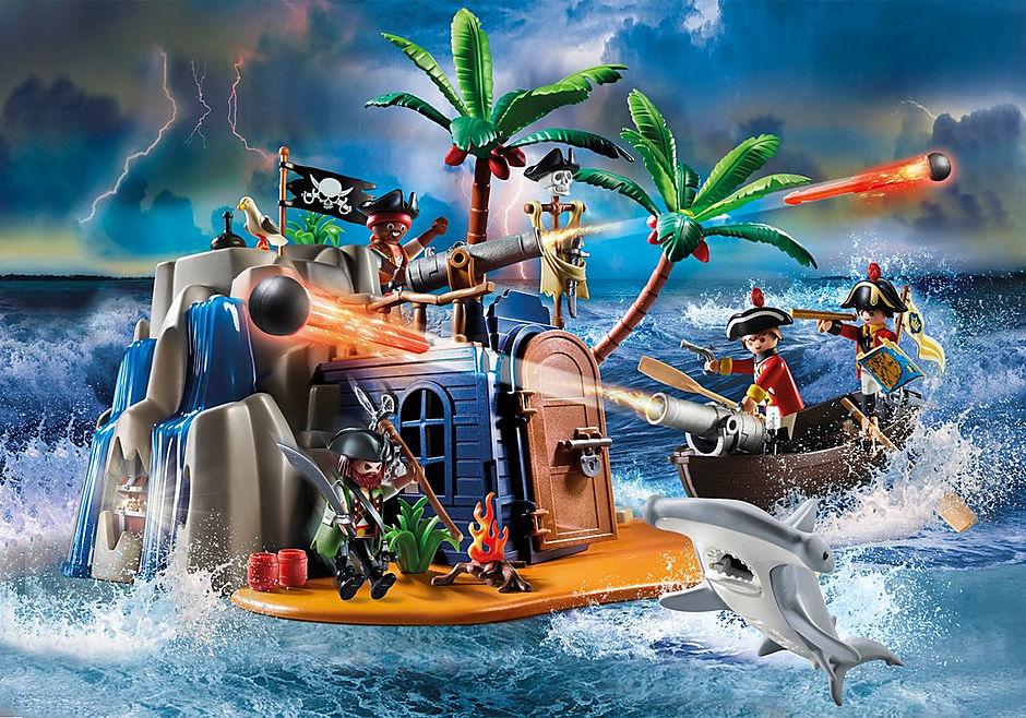 70556 Covo del tesoro dei pirati detail image 1