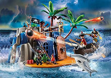 70556 Piratö med skattgömma
