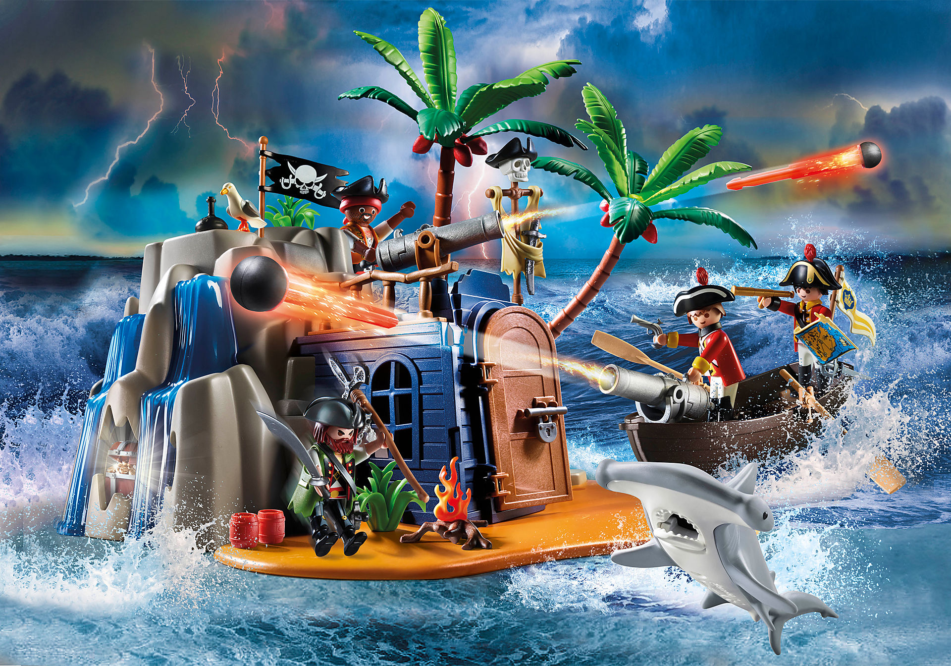 70556 Pirate Island Hideout zoom image1