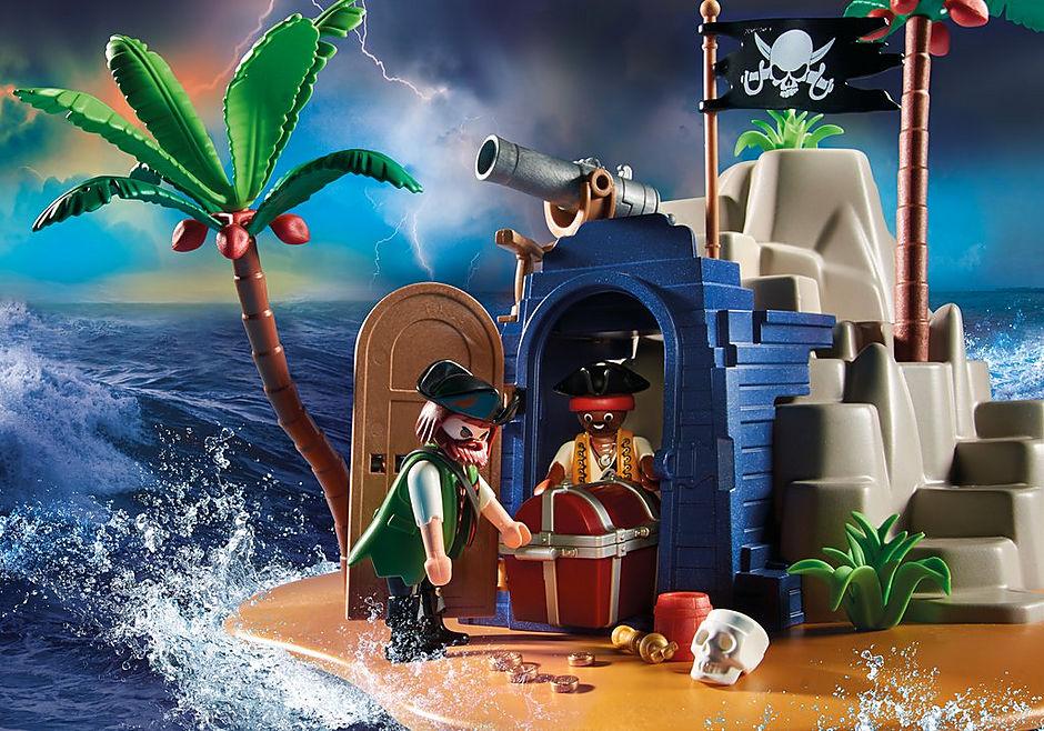 70556 Pirateneiland met schuilplaats voor schatten detail image 5