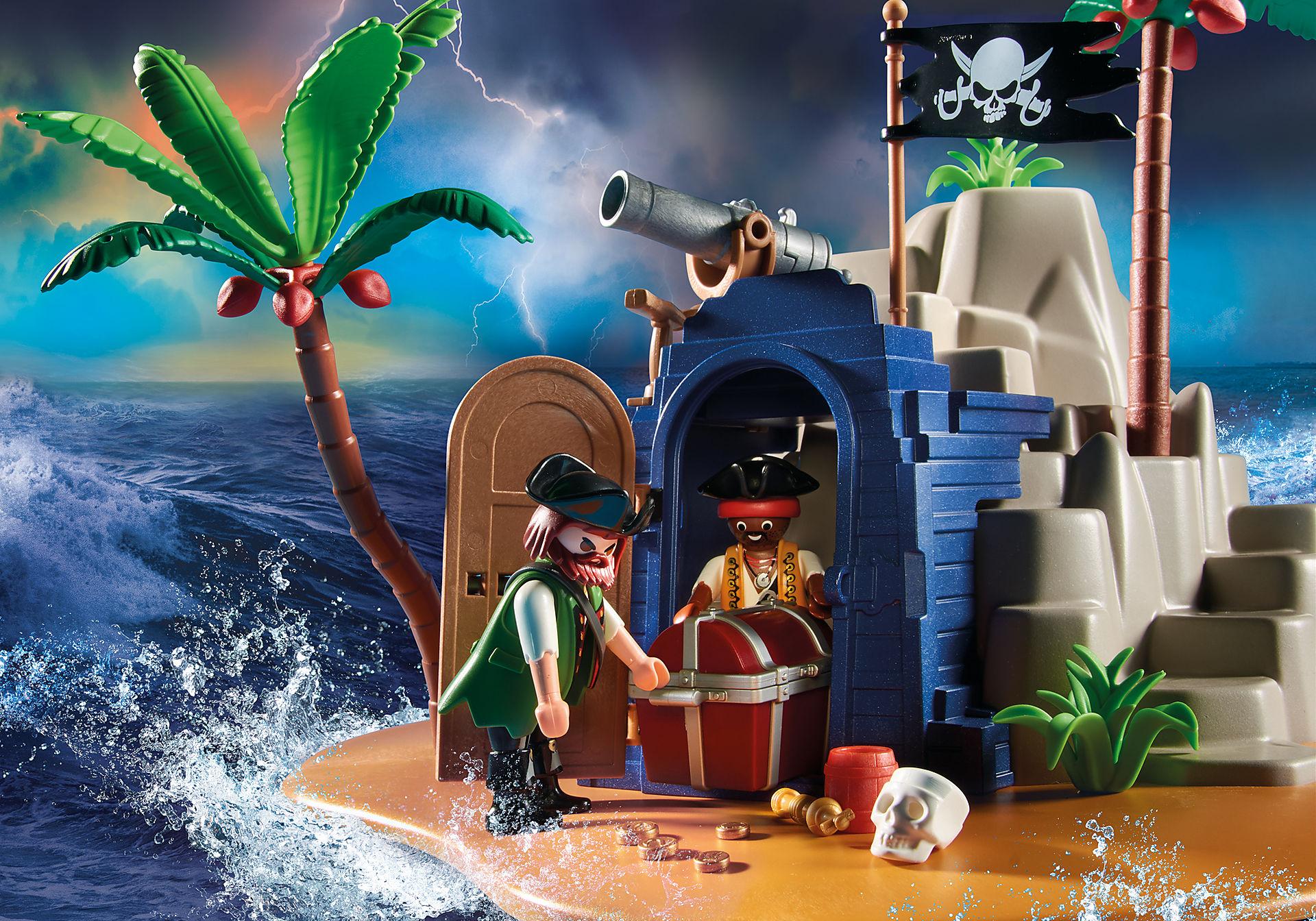 70556 Pirateneiland met schuilplaats voor schatten zoom image5