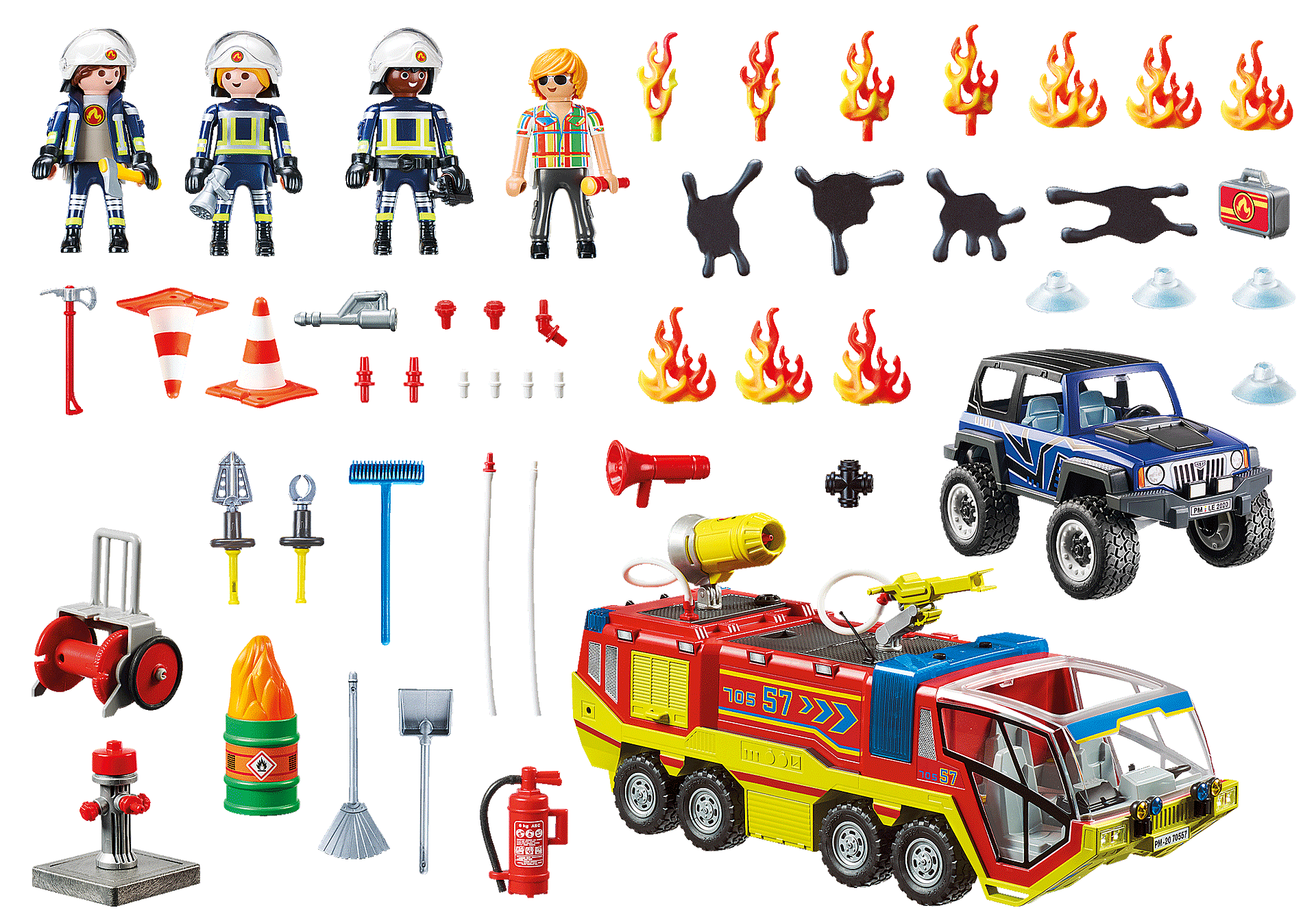 70557 Fire Engine with Truck zoom image3