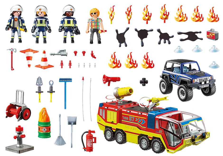 70557 Fire Engine with Truck detail image 3